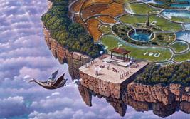 我願望散步島國只深深的凝視:連建興的荒景魔幻